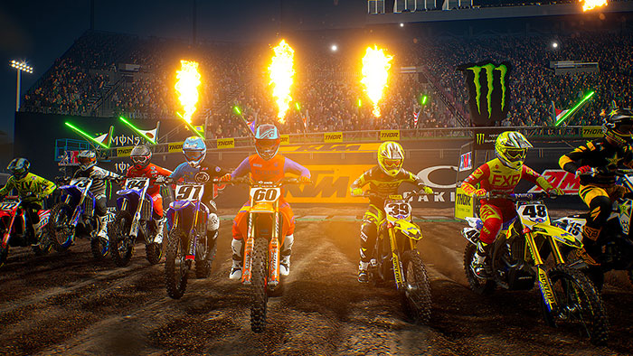monster energy supercross achivements guide