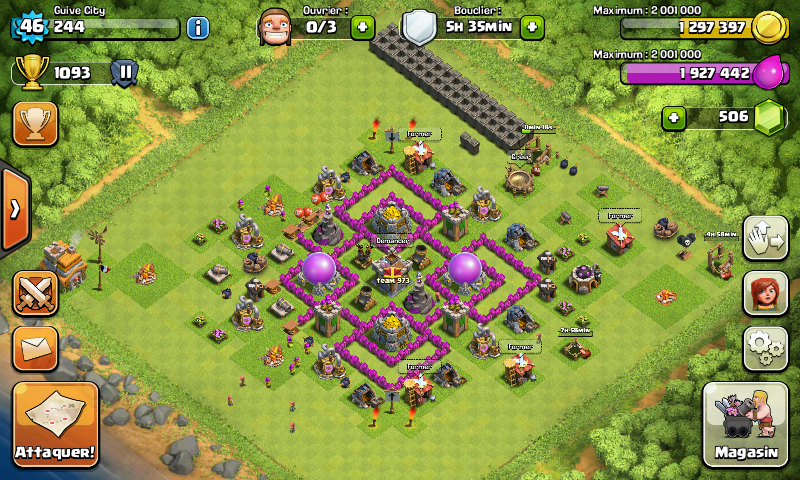 clash of clans hdv 6 guide