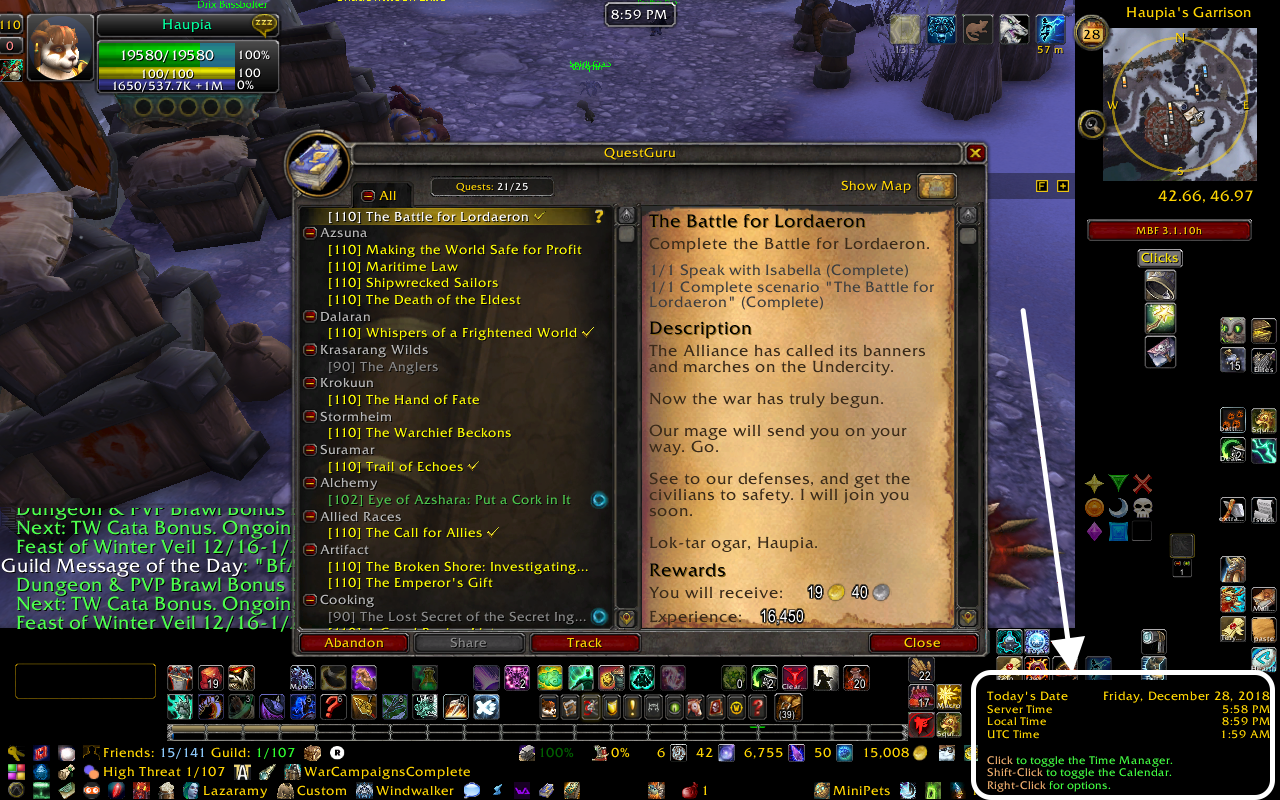 curse twitch wow addons guide